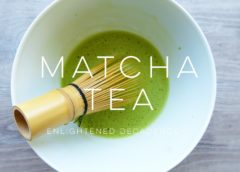 Matcha tea gives you full nutrition and power to work
